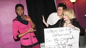 Celebs at Romeo and Juliet - Condola Rashad - Orlando Bloom - Joan Rivers