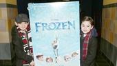 Frozen – Newsies Screening – Luca Padovan – Josh Colley