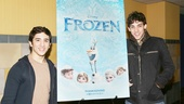 Frozen – Newsies Screening – Jess LeProtto – John Michael Fiumara