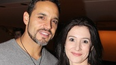 Tony nominee Daniel Sunjata and Bianca Amato play Macduff and Lady Macduff in the spooky new revival.