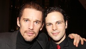 They wage war as Macbeth and Malcolm, but offstage Ethan Hawke and Jonny Orsini couldn't be closer.