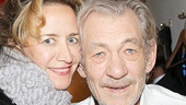 Tony winner Janet McTeer cheers on her former Uncle Vanya co-star Ian McKellen.
