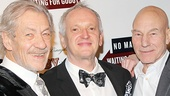 This night was double the fun! Catch Ian McKellen and Patrick Stewart in No Man's Land and Waiting For Godot at the Cort Theatre, directed by Sean Mathias!