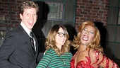 Kinky Boots stars Stark Sands and Billy Porter celebrate love backstage with funny lady Tina Fey.