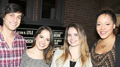 Spring Awakening Reunion – Gideon Glick – Remy Zaken – Phoebe Strole – Lilli Cooper