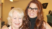 Debra Messing bonds with Dearbhla Molloy, who plays her grief-stricken mother, Oeife.