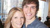 How lucky is Derek Klena to jump from playing Fiyero in Wicked to Kelli O'Hara's son in The Bridges of Madison County?