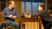 Brían F. O'Byrne as Anthony & Debra Messing as Rosemary in Outside Mullingar