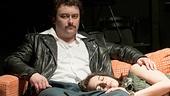 Kirk Gostkowski as Eddie & Rachel Cora as Donna in Hurlyburly