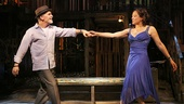 Tony Plana as Agustin & Lauren Valez as Yaz in The Happiest Song Plays Last