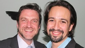 Past and future Tick, Tick... Boom! stars unite! Raul Esparza and Lin-Manuel Miranda catch up.