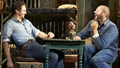 James Franco as George & Chris O'Dowd as Lennie in Of Mice and Men