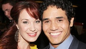 The Little Mermaid alum Sierra Boggess and Aladdin star Adam Jacobs.