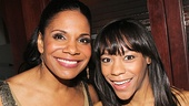 Audra McDonald and Les Miserables star Nikki M. James.