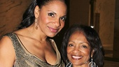 Audra McDonald's mom Anna cheers her on.