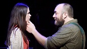 Sutton Foster as Violet & Alexander Gemignani as Father in Violet