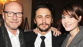 Third Person stars James Franco and Loan Chabanol catch up with the film's writer and director, Paul Haggis.