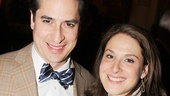 Matthew Saldivar of Act One and his girlfriend, actress Sarna Lapine.