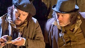 Padraic Delaney as Babbybobby & Pat Shortt as Johnnypateenmike in The Cripple of Inishmaan
