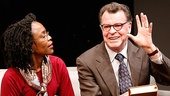 Charlayne Woodard as Marge & John Noble as Isaac in The Substance of Fire