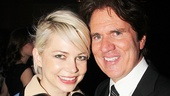 MIchelle Williams and Rob Marshall.