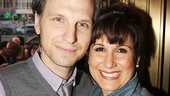 Husband-and-wife stars Sebastian Arcelus and Stephanie J. Block.