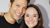 Justin Guarini and Christine Dwyer of Wicked.
