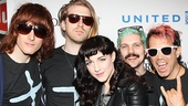 Tony nominee Lena Hall and the Hedwig and the Angry Inch band.