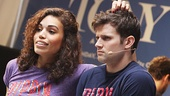 "Pippin stars Ciara Renee and Kyle Dean Massey are ""On the Right Track!"""