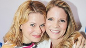 Tony nominees unite! The Glass Menagerie vet Celia Keenan-Bolger and Bridges alum Kelli O'Hara hang out.
