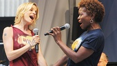 If/Then stars Jenn Colella and LaChanze wail.
