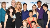 Judy McLane and the cast of Mamma Mia! bring the Greek isles to Broadway.