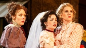 Kathryn Meisle as Ursula, Ismenia Mendes as Hero & Lily Rabe as Beatrice in Much Ado About Nothing