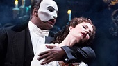 Norm Lewis as The Phantom & Sierra Boggess as Christine in The Phantom of the Opera. Photo by Matthew Murphy