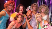Pageant the Musical – James Monroe Iglehart Visits – OP - 4/14 – cast – James Monroe Iglehart