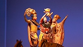 The cast of The Lion King