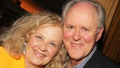 Tony winner John Lithgow and his wife Mary.