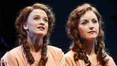 Emily Padgett as Daisy Hilton and Erin Davie as Violet Hilton in Side Show