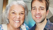 Tony winner Tyne Daly with If/Then's Curtis Holbrook.