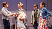 Ewan McGregor as Henry, Cynthia Nixon as Charlotte, Josh Hamilton as Max & Maggie Gyllenhaal as Annie in The Real Thing