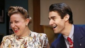 Sophie von Haselberg as Helen Hernandez & Drew Gehling as Joe Sistrom in Billy & Ray