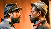 Louis Cancelmi as Smith and Sterling K. Brown as Hero in Father Comes Home from the Wars (Parts 1, 2 & 3)