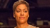 Cush Jumbo as The Woman in  The River