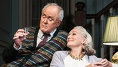 John Lithgow as Tobias & Glenn Close as Agnes in A Delicate Balance