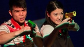 Telly Leung and Jennifer Lim in The World of Extreme Happiness