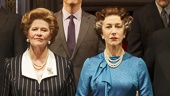 Helen Mirren as Elizabeth II and the cast of The Audience