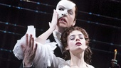 James Barbour as The Phantom & Julia Udine as Christine in The Phantom of the Opera