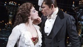 Julia Udine as Christine & James Barbour as The Phantom in The Phantom of the Opera