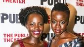 Eclipsed - Opening - 10/15 - Lupita Nyong'o and playwright Danai Gurira