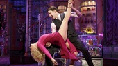 Jane Krakowski as Ilona and Gavin Creel as Kodaly in She Loves Me.